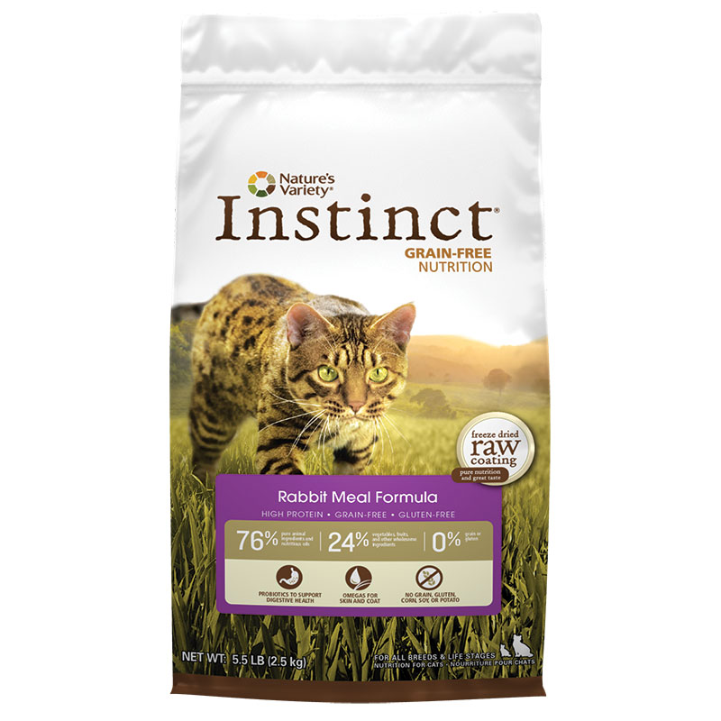 Nature's Variety® Instinct® Rabbit Meal Formula Cat Food 5.5 lbs. 60313