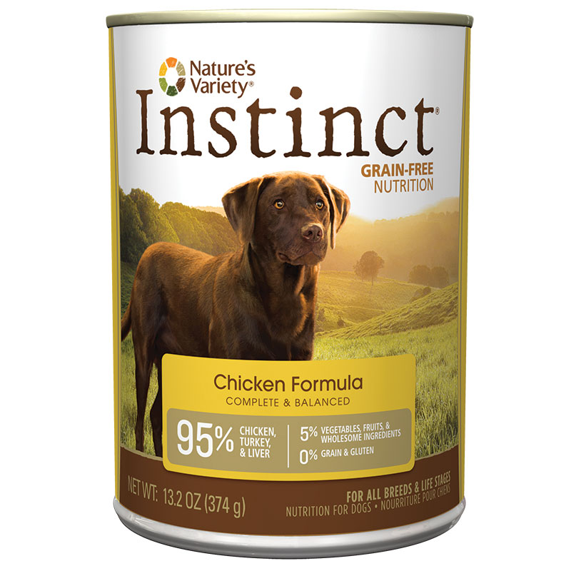 Natures Variety ® Instinct Chicken Dog Food 960327B