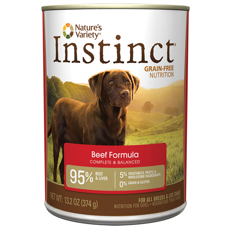 Nature's Variety® Instinct® Beef Dog Food 13.2 oz 60334
