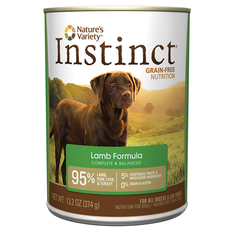 Nature's Variety® Instinct® Lamb Dog Food 13.2 oz 60335