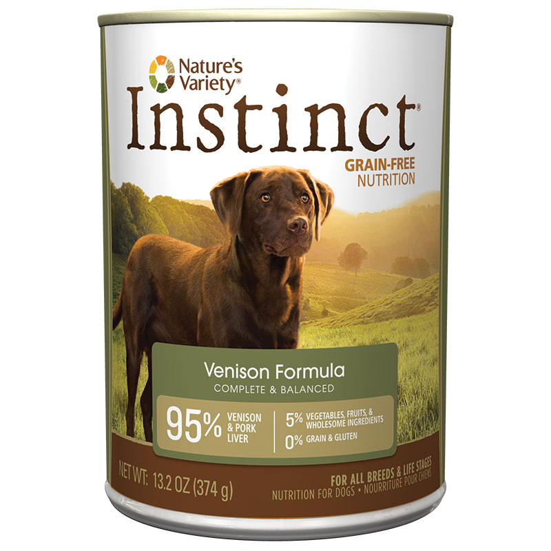 Natures Variety ® Instinct Venison Dog Food 960332B