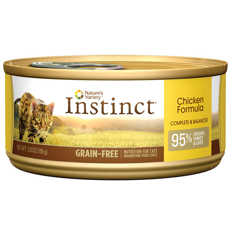 Natures Variety ®  Instinct Chicken Formula Cat Food 5.5 oz. 60345
