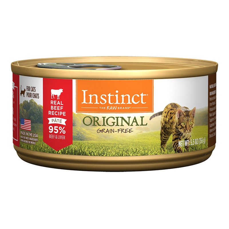 Nature's Variety® Instinct® Beef Formula Cat Food 5.5 oz. 60346