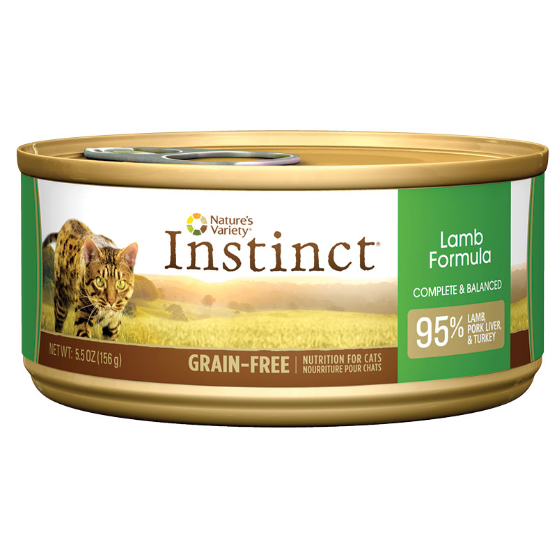 Natures Variety ® Lamb Formula Instinct Cat Food 5.5 oz. 960347