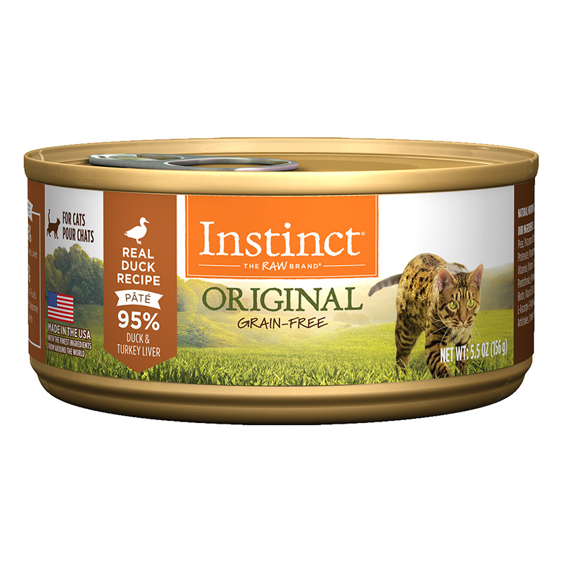 Nature's Variety® Instinct® Duck Formula  Cat Food 5.5 oz. 60348