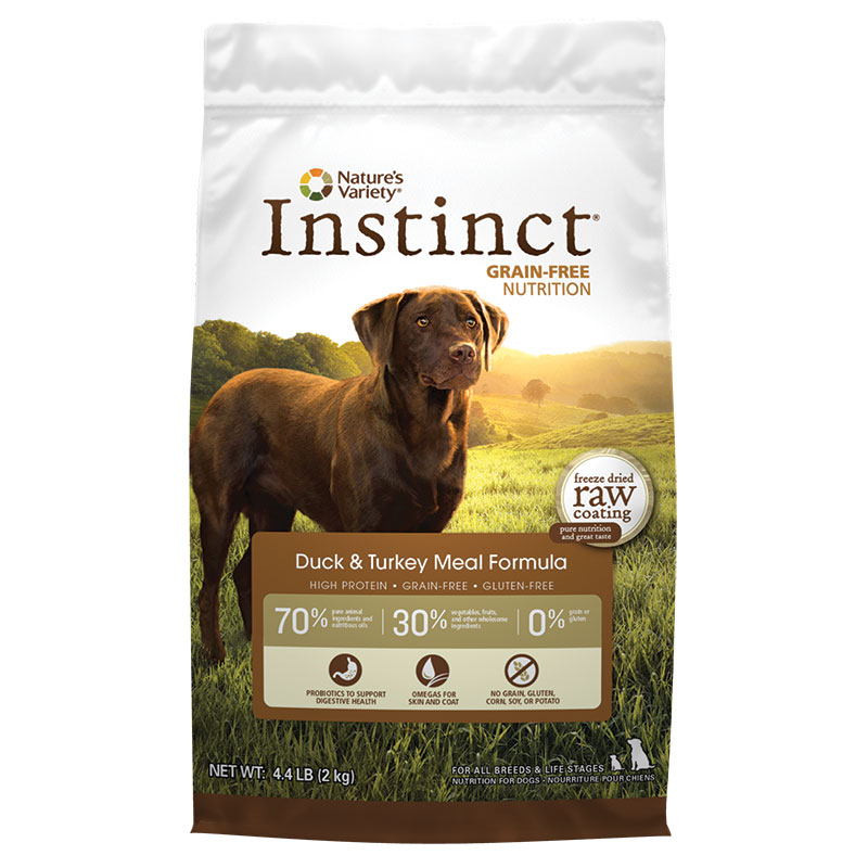 Natures Variety ® Dog Instinct Duck Meal and Turkey Meal Formula 60550B
