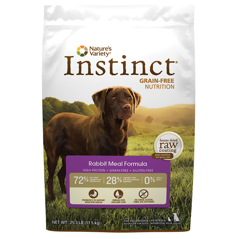 Natures Variety ®  Dog Instinct Rabbit Meal Formula 60553B