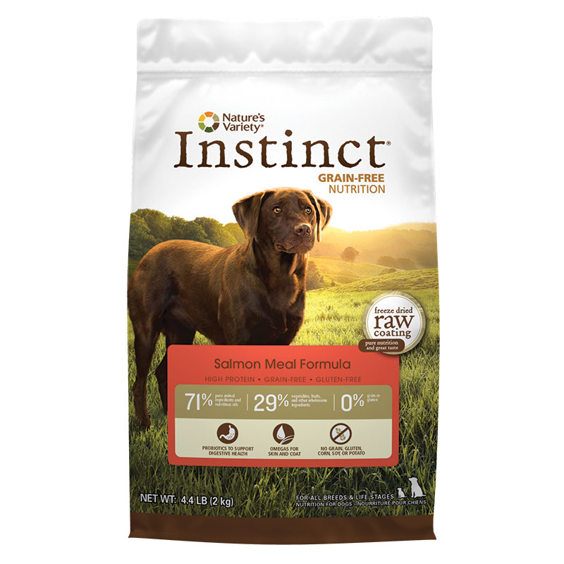 Nature's Variety® Instinct® Grain-Free Salmon Meal Formula Dry Dog Food 60581b