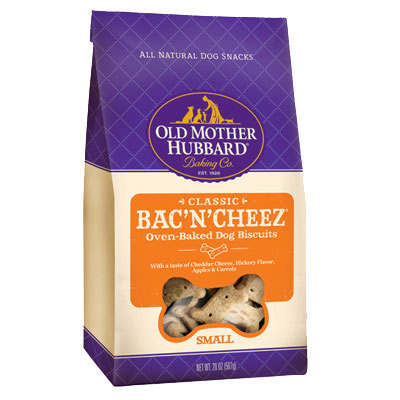 Old Mother Hubbard® Extra Tasty Biscuits for Dogs Bac'N' Cheez® Small 20 oz. 61632