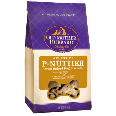Old Mother Hubbard® Treats for Dogs P-Nuttier 3 lbs. 61834