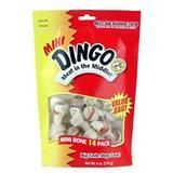 "Dingo® Rawhide Knoted 2.5"" White Bones 14 ct. & 21 ct. Value Bags 62392e"