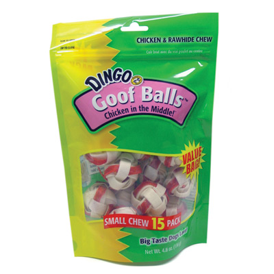 "Dingo® Goof Balls™ 1.5"", 15 Ct. Value Bag 6484"