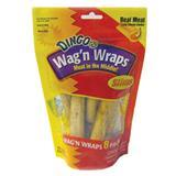 "Dingo® Chicken Wag 'N Wraps™ Dog Treats Slims, 8 Pk. 5"" X 1/2"" Rolls 64850"