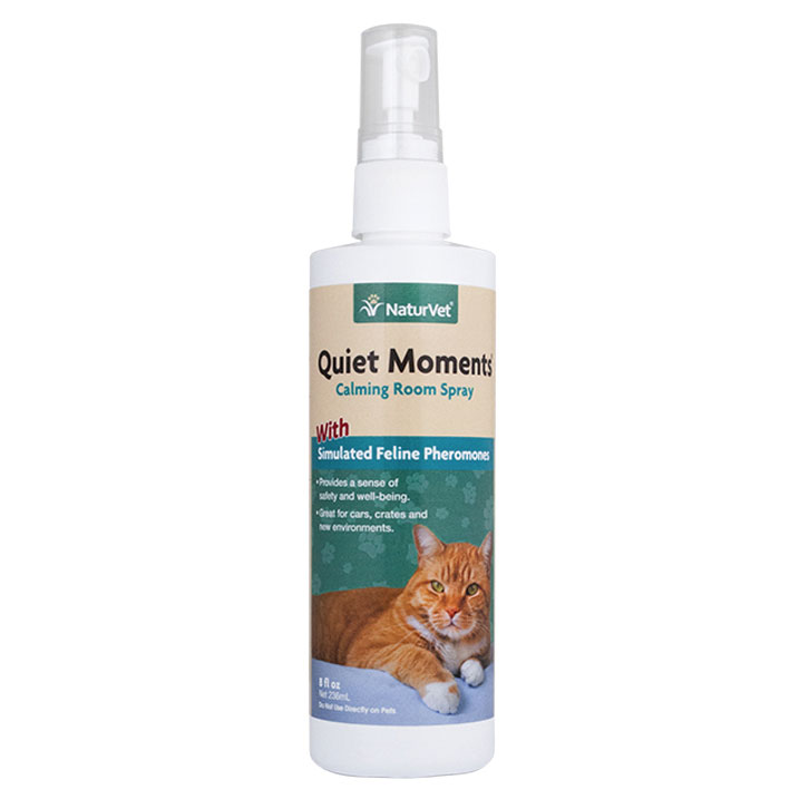 NaturVet ® Quiet Moments Calming Spray For Cats 8 oz.