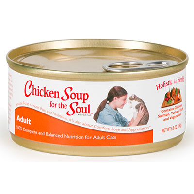 Chicken Soup for the Soul® Adult Cat Food 5.5 oz.