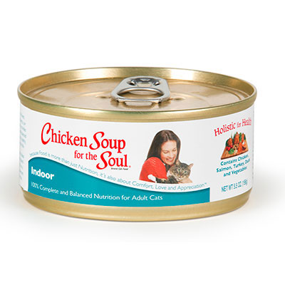 Chicken Soup for the Soul™ Indoor Cat Wet Food 5.5 oz. 69280