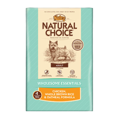 Nutro® Natural Choice® Wholesome Essentaials™ Adult Chicken, Whole Brown Rice & Oatmeal Formula 69315B