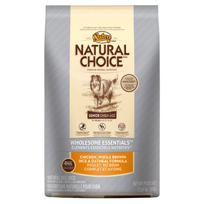Nutro® Natural Choice® Wholesome Essentials™ Senior Chicken, Whole Brown Rice & Oatmeal Formula 69312B