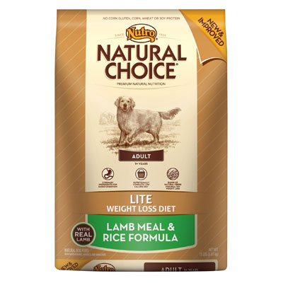 Nutro® Natural Choice® Lite Weight Loss Diet Lamb Meal & Rice Formula for Adult Dogs