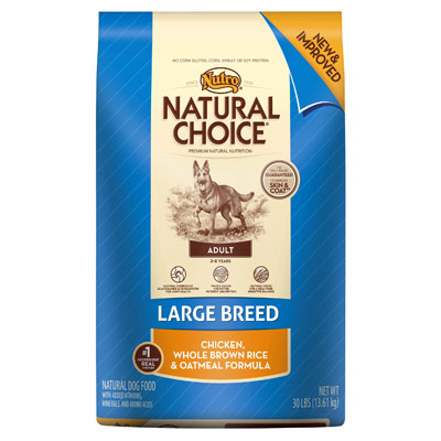 Nutro ® Natural Choice ® Large Breed Adult Dog Food 69311B