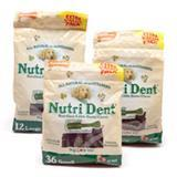 Nutri Dent Edible Dental Brush Chews For Dogs Value Pack Pouch 69741b