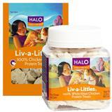 HALO® Liv-a-Littles® Chicken Breast Protein Treats 70830b