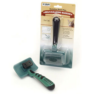 Self-Cleaning Cat Slicker Brush 7093