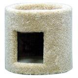 Single Cat Condo Tan/Beige 7097