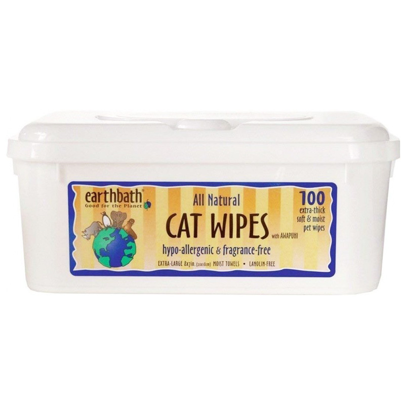 Earthbath® Cat Wipes Wild Cherry