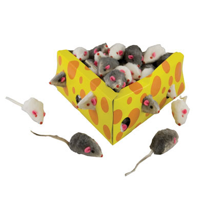 Circus Mice Cat Toys 60 ct.