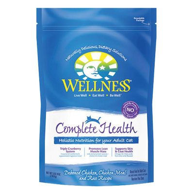 Wellness® Complete Health  Deboned Chicken, Chicken Meal and Rice Cat Food 74841B