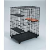 MidWest® Model #130 Swing Front Double Door Cat Playpen 7483