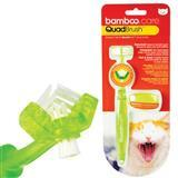 Bamboo® QuadBrush™ Ultimate Cat Toothbrush 75308