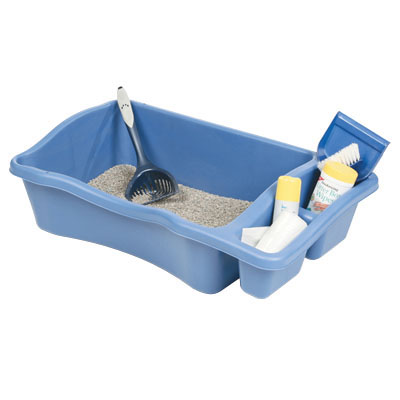Giant Litter Pan with Compartments 7542