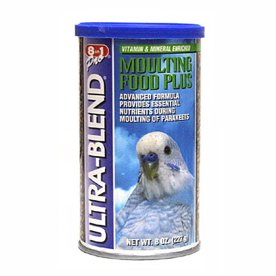 Parakeet Moulting Food 8 oz. Canister 75504 Parrot Food