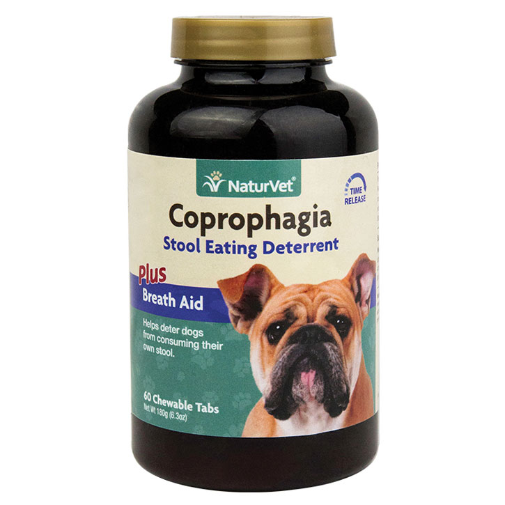 NaturVet ® Coprophagia Deterrent Tablets 60 ct. 7550