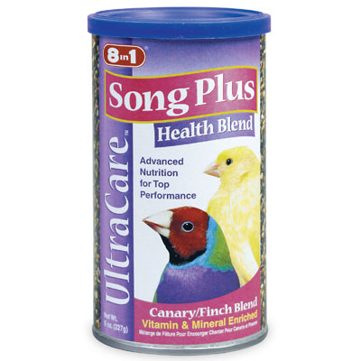 Ultra Care Song Plus Health Blend for Canaries and Finches 8 oz. 75532