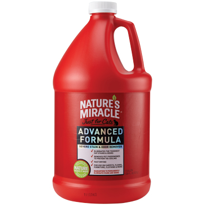 Nature's Miracle® Advanced Just For Cats™ Stain & Odor Remover 1 Gallon 75724