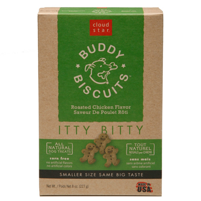 Cloud Star® Itty Bitty Buddy Biscuits™ Roasted Chicken 8 oz. 769322