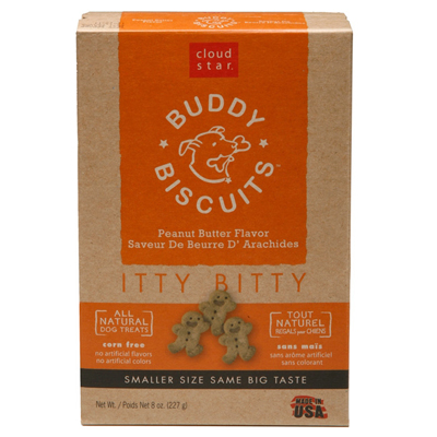 Cloud Star® Itty Bitty Buddy Biscuits™ Peanut Butter 8 oz. 769323