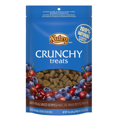 Nutro® Natural Choice® Crunchy Treats with Real Mixed Berries 10 oz.  77113