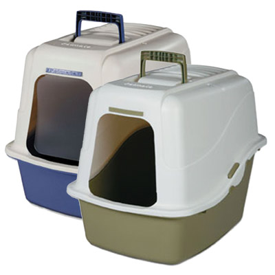 Petmate ® Deluxe Hooded Litter Pans and Accessories 78081b