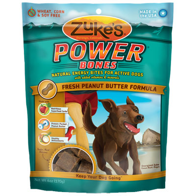 Zuke's® Power Bones Dog Treats 6 oz. Peanut Butter 782813