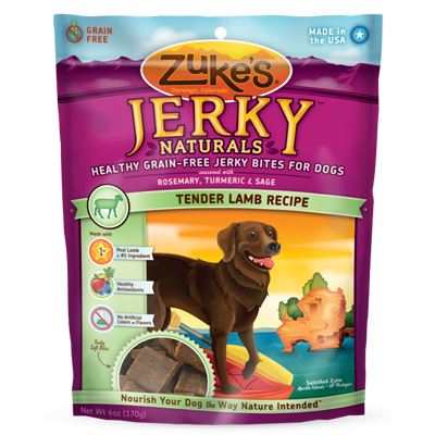 Zuke's® Jerky Naturals™ Tender Lamb Dog Treats 6 oz. 782815