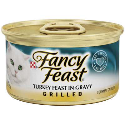 Fancy Feast® Grilled Turkey Cat Food 3 oz. 79512
