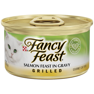 Fancy Feast Grilled Salmon in Gravy 3 oz 79516