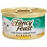 Fancy Feast® Gourmet Cod, Sole & Shrimp Cat Food 3 oz. 79524