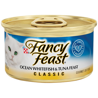 Fancy Feast ®  Gourmet Ocean Whitefish & Tuna Cat Food 3 oz. 979525