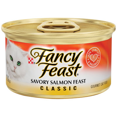 Fancy Feast ®  Gourmet Savory Salmon Cat Food 3 oz. 979527