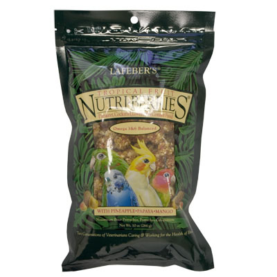 Lafeber's Tropical Fruit Nutri Berries Cockatiel 10 oz. 8153